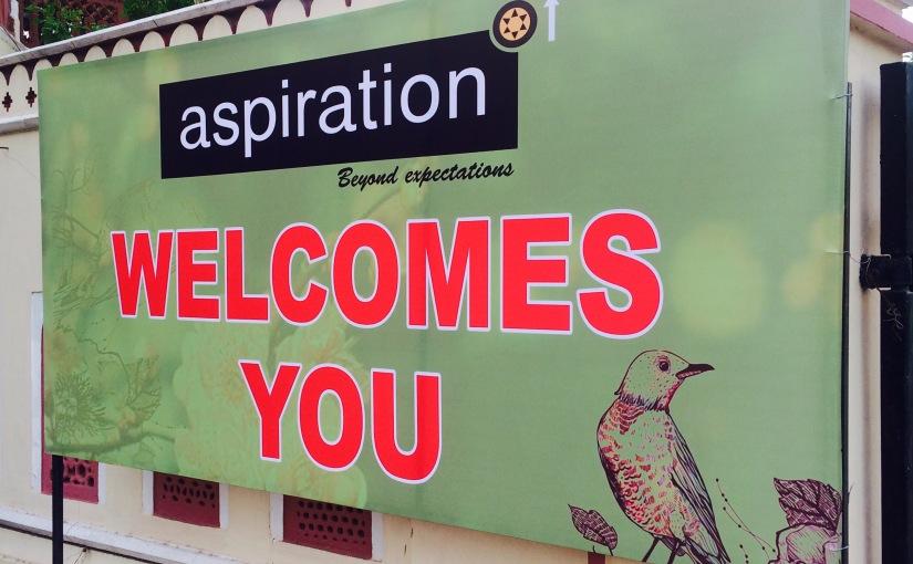 Aspiration : Exhibition,Jaipur