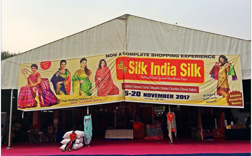Handloom Expo : Silk India Silk