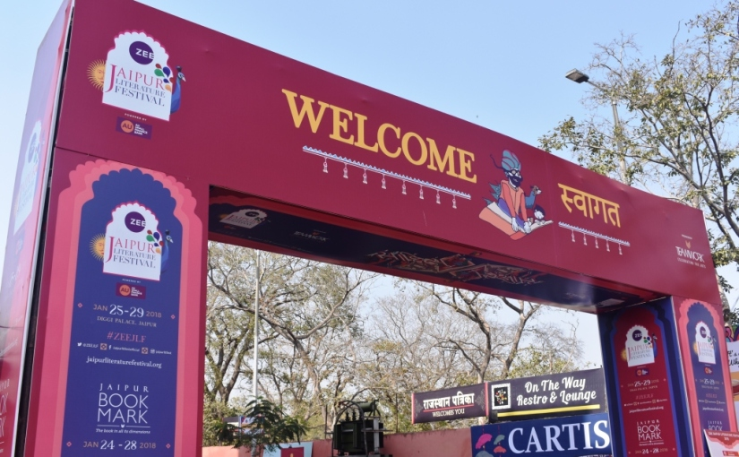 Jaipur Literature Festival : Part 1