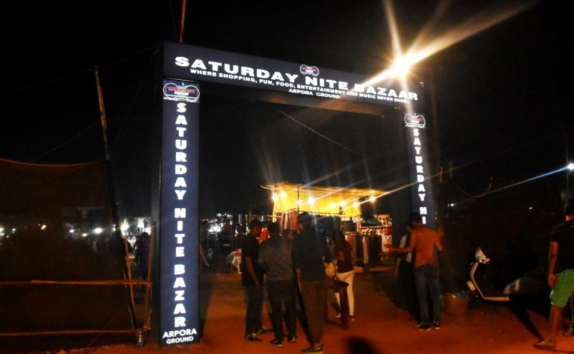 Travel : Saturday Night Market, Goa