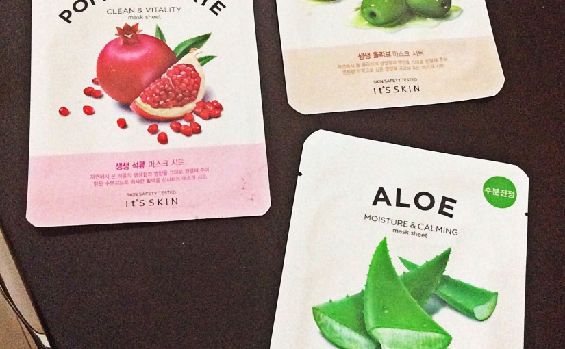 Beauty Review : It's Skin Mask Sheets